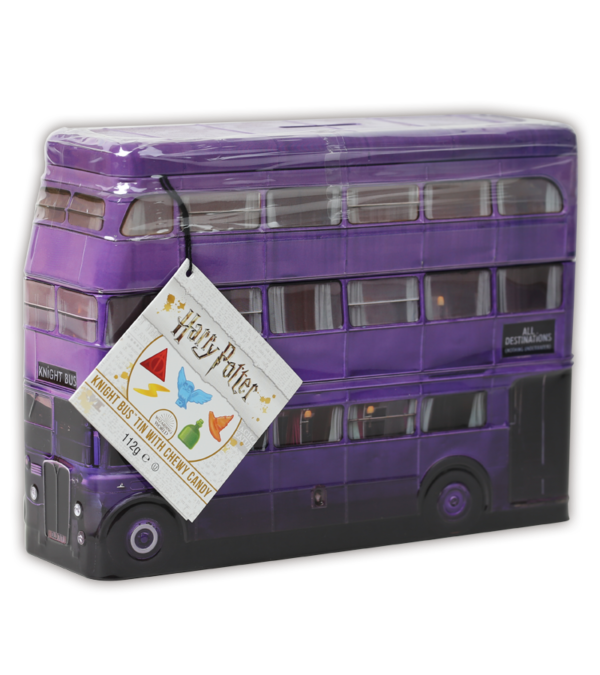 Harry Potter Knight Bus Tin with sweets