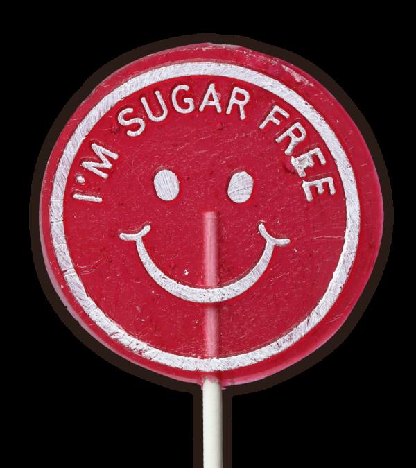 Sugar Free Red Lollipop