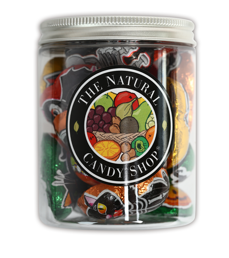 Jar of Halloween Chocolates