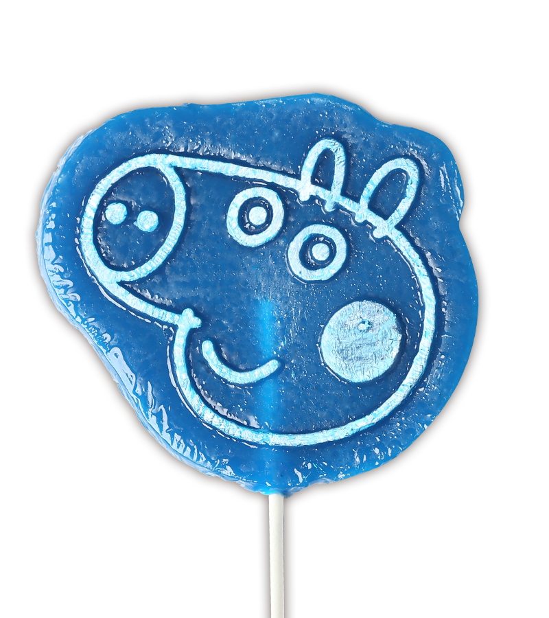 Peppa Pig Lollipop in Raspberry flavour