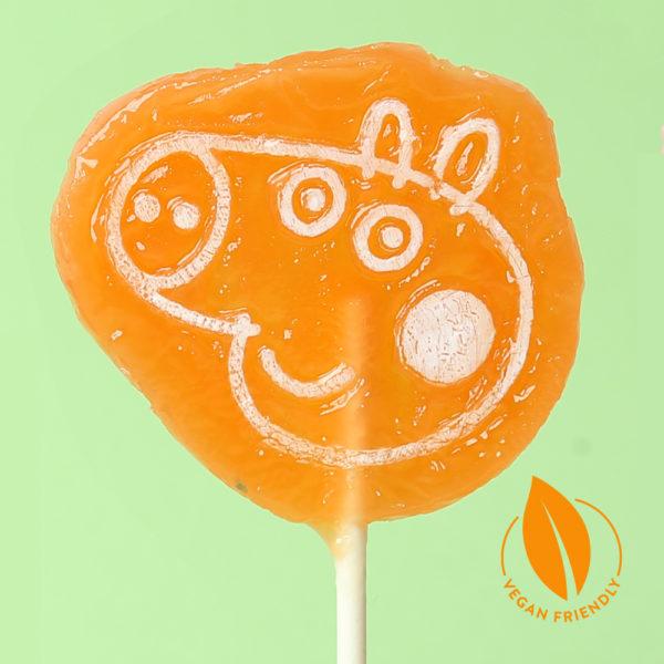 Peppa Pig Tutti Frutti Lollipops • Vegan Lollipop
