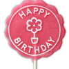 Special occassions happy birthday lollipop