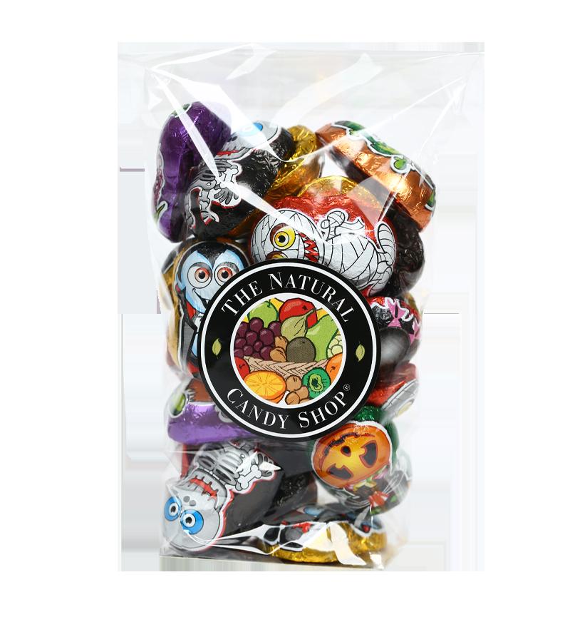bag of halloween chocolates