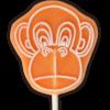 Chunky Monkey Vegan Lolly