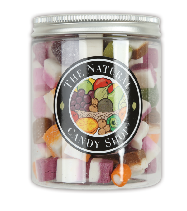 Jar of Dolly Mixtures Sweets