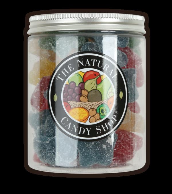 Jar of Vegan Fizzy Jelly Stars Sweets