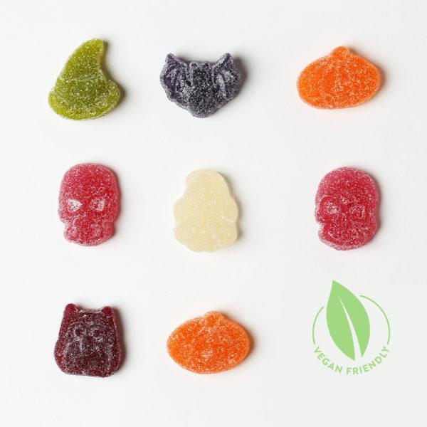Vegan Sweets Halloween Fizzy Jellies