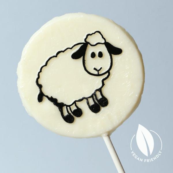shirley sheep apple vegan lolly
