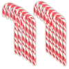 Strawberry Candy Cane Cradle of 12