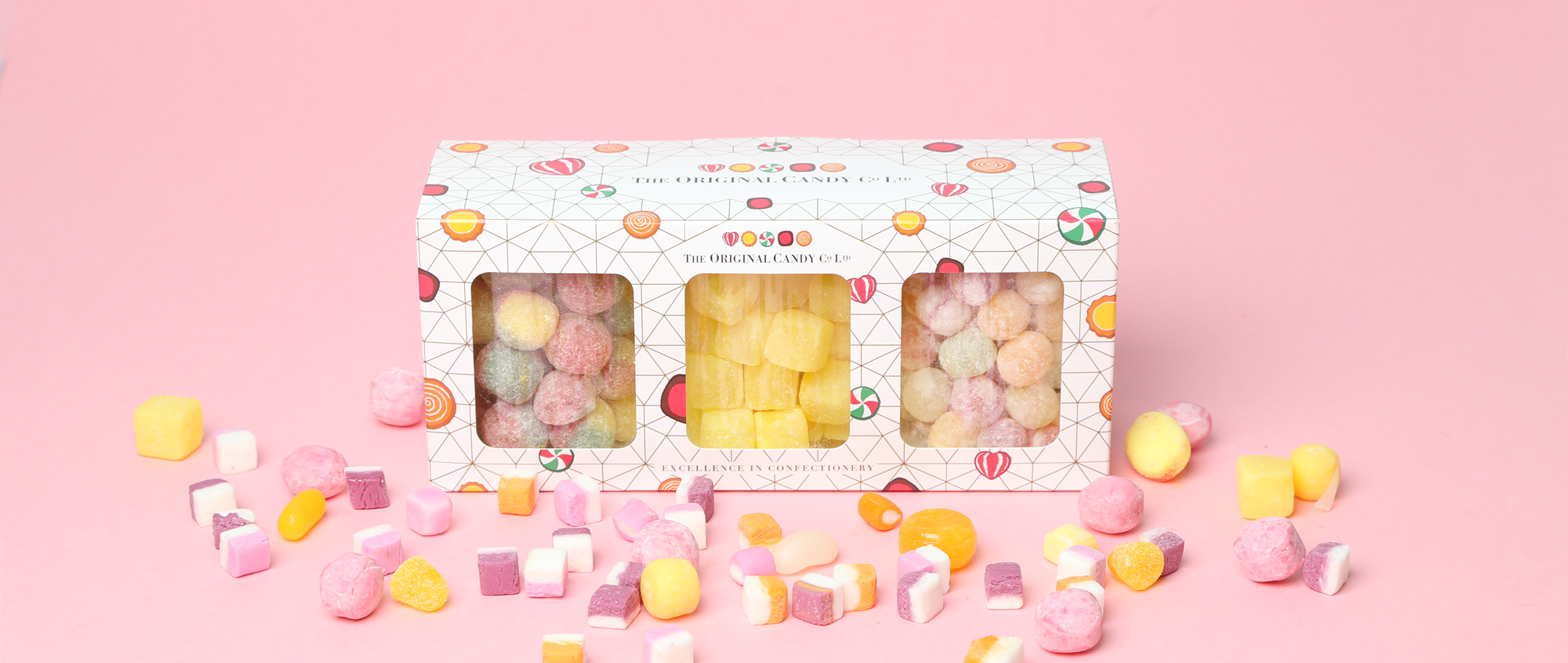 Candy Gift Box of Traditional sweets