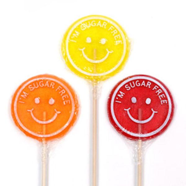 sugar free lollipop selection