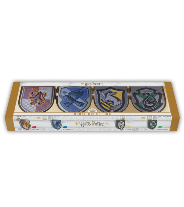 Complete collection of Harry Potter Crest Tins